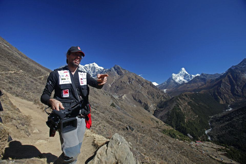 Everest Trail Race - Camera operator