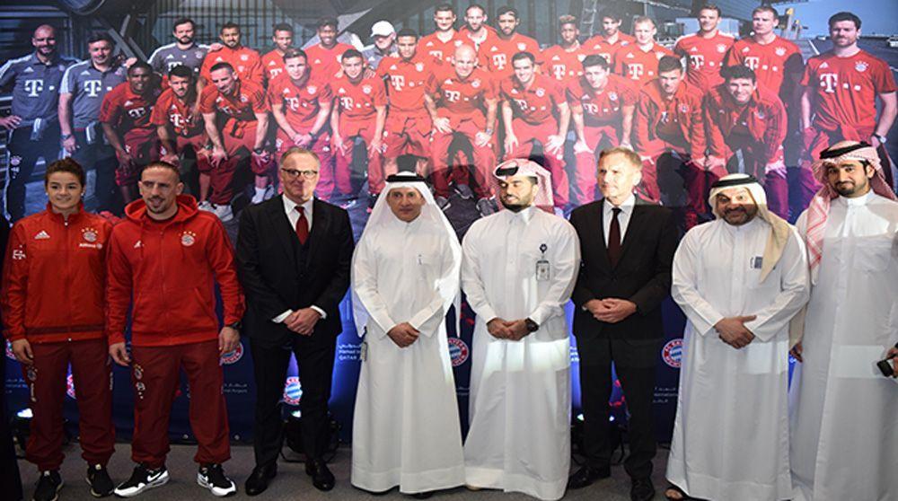 Qatar Airways es nuevo patrocinador del Bayern Munich