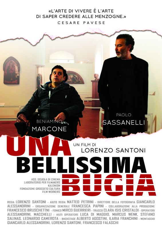 Subtitles of the short film Una bellíssima bugia